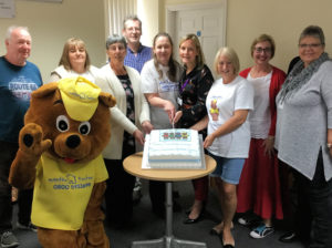 Regional Foster launch with cake
